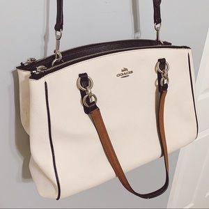 COACH Leather Crossbody Bag/Tote